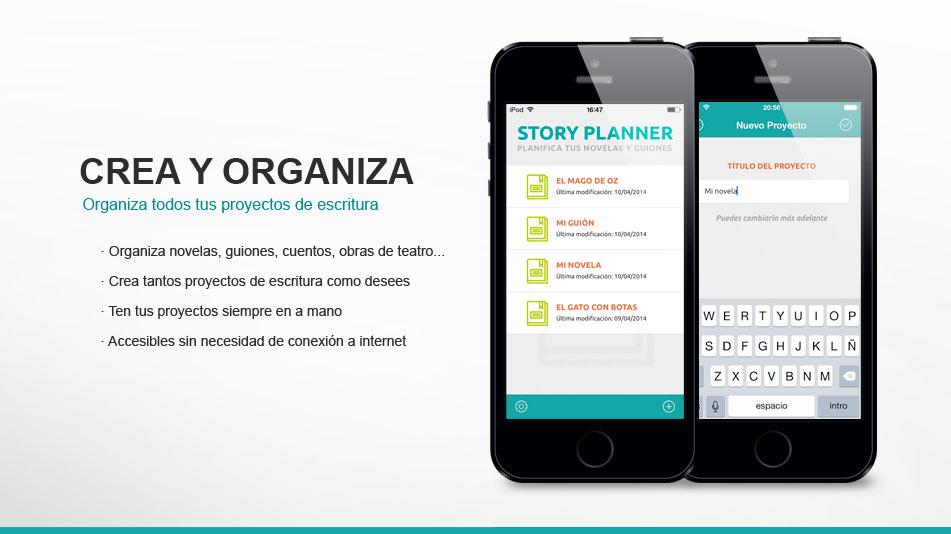 Organiza todos tus proyectos de escritura